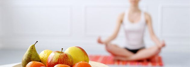 Îmbunătățirea procesului de meditație prin nutriție